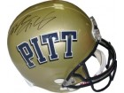 LeSean McCoy signed Pittsburgh Panthers Full Size Riddell Replica Helmet (black sig)