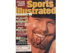Mark McGwire Autographed / Signed Sports Illustrated - March 23 1998 - Home Run King