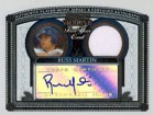 Russ Martin Autographed / Signed Bowman Sterling First Year Jersey Card #BS-RM