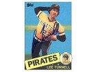 Lee Tunnell Autographed / Signed 1985 Topps #21 Card - Pittsburgh Pirates