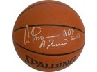 Artis Gilmore signed Indoor/Outdoor Basketball HOF 2011 & A Train