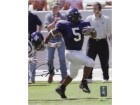 Ladainian Tomlinson signed TCU Horned Frogs 8X10 Photo- Tri-Star/Tomlinson Holograms