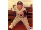 Whitey Ford Autographed / Signed Pitching Pose New York Yankees 8x10 Photo