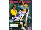 Rich Goosage Autographed / Signed April 16 1984 Sports Illustrated Baseball Magazine