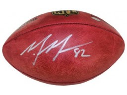 Mario Manningham signed Official NFL New Duke Football- Steiner Hologram