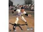 Whitey Ford signed New York Yankees 8x10 Photo HOF 74- MLB Hologram