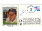Yogi Berra Autographed / Signed New York Yankees Memorial Park Cache