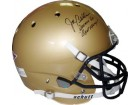 Joe Bellino signed Navy Midshipmen Full Size Schutt Replica Helmet  Heisman 60/Beat Army!- JSA Hologram