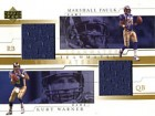 Marshall Faulk / Kurt Warner 2001 Upper Deck St. Louis Rams Football Card