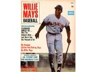 Willie Mays Unsigned 1963 Exclusive Willie Mays Baseball Cover Magazine