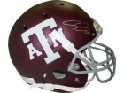 Ryan Tannehill signed Texas A&M Aggies Maroon Schutt Full Size Replica Helmet #17