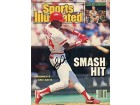 Eric Davis Autographed / Signed Sports Illustrated - May 25 1987