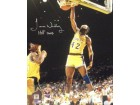 James Worthy signed Los Angeles Lakers 16x20 Photo HOF 2003