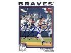 Rafael Furcal Atlanta Braves Autographed / Signed 2003 Topps #230