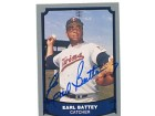 Earl Battey Autographed/Signed 1988 Pacific Trading Card
