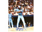 "Andre Dawson """"HOF 2010"""" Autographed / Signed 8x10 Photo"