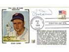 Bobby Doerr Autographed / Signed 1986 Hall of Fame Induction Cache