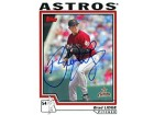 Brad Lidge Autographed / Signed 2004 Topps Card