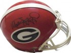 Matthew Stafford signed Georgia Bulldogs Riddell Mini Helmet #7 (black sig)