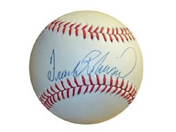 Frank Robinson Autographed / Signed Baseball