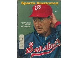 Ted Williams 1969 Sports Illustrated Magazine