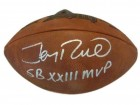Jerry Rice Autographed Super Bowl XXIII Football w/inscription San Francisco 49ers