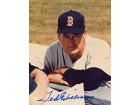 Ted Williams Autographed / Signed Boston Red Sox Baseball 8x10 Photo