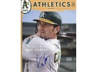 Eric Chavez Autographed / Signed Magazine of the Oakland Athletics March 2005 Spring Training