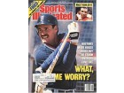 Wade Boggs Autographed/Signed Sports Illustrated March 6 1989