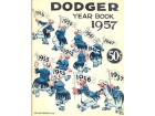 1957 Brooklyn Dodgers Yearbook