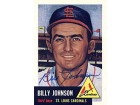 Billy Johnson Autographed / Signed 1991 Topps 1953 Reprint Card #21 - St. Louis Cardinals