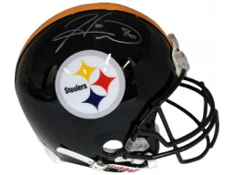 Hines Ward signed Pittsburgh Steelers Full Size Proline Helmet- Steiner Hologram