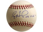 Ryan Howard 58 HR's Signed / Autographed Baseball