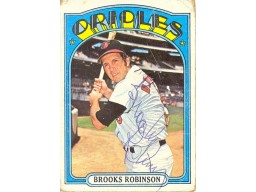 Brooks Robinson Autograph/Signed Card