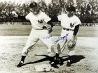 Tony Kubek & Phil Rizzuto Autographed/Signed 16x20 Photo (Black & White)