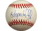 Edgar Alfonso Autographed/Signed Baseball