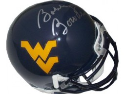 Bobby Bowden signed West Virginia Mountaineers Schutt Authentic Mini Helmet