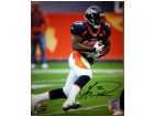 Knowshon Moreno signed Denver Broncos 11x14 Photo (blue jersey)- Moreno Hologram