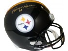 Franco Harris signed Pittsburgh Steelers Full Size Replica Helmet #32 (Gold sig)- JSA Hologram