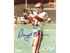 Dwight Clark Autographed 8x10 Photo 49'ers PSA/DNA #Q97706