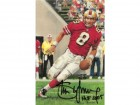 Steve Young Autographed San Francisco 49ers GLAC HOF signed in black