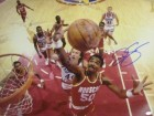 Ralph Sampson signed Houston Rockets 16x20 Photo vs Clippers