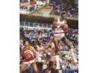 Ralph Sampson signed Houston Rockets 16x20 Photo vs Hawks