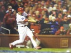 So Taguchi signed St. Louis Cardinals 16x20 Photo Batting (2006 World Series Champs)English/Japanese