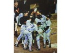 Bruce Hurst signed Boston Red Sox 16x20 Color Photo 1986 AL Champs w/ 19 Signatures