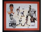 Cal Ripken Jr. 2131 Autographed / Signed Framed IRON MEN 27x32 Litho