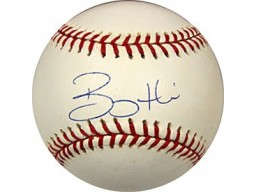 Bobby Hill Autographed / Signed Baseball