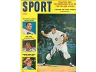 Bob Turley Autographed / Signed Sport Magazine October 1958