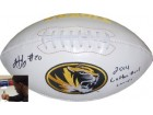 Henry Josey signed Missouri Tigers Logo Football 2014 Cotton Bowl Champs