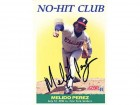 Melido Perez Autographed / Signed 1991 Score No-Hit Club Card #705 Chicago White Sox